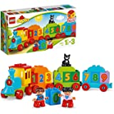 LEGO DUPLO My First Number Train 10847 Learning and Counting Train Set Building Kit and Educational Toy for 2-5 Year Olds (23