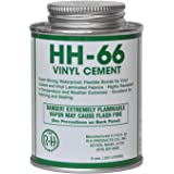 HH-66 PVC Vinyl Cement Glue with Brush 8oz