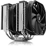 DEEP COOL Assassin III Air CPU Cooler, 7 Heatpipes, Dual 140mm Fans, 54mm RAM, 280W TDP, New Sinter Heatpipe Technology, 5-Ye