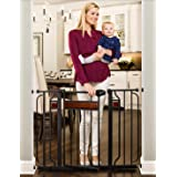 Regalo Home Accents Safety Gate, Black 10 Pounds