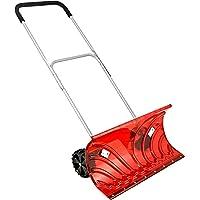 大型車輪付 スノープッシャー 《楽太郎》少ない積雪の除雪に大変便利です。【改良型】 丈夫なポリカーボネート製
