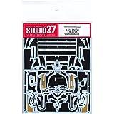 【STUDIO27/スタジオ27】1/24 トヨタ TS050 ハイブリッド LM 2018 カーボンデカール for タミヤ