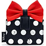 Loungefly x Disney Minnie Mouse Big Red Bow Cardholder Wallet