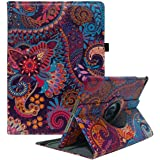 CenYouful iPad Case Fit 2018/2017 iPad 9.7 6th/5th Generation - 360 Degree Rotating iPad Air Case Cover with Auto Wake/Sleep