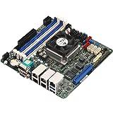 ASRock Rack C3558D4I-4L Atom C3558 Mini ITX マザーボード クアッドGbE LAN/IPMI/SATAコネクター13個付き