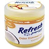 Refresh Your Car! E301461500 Scented Gel Can, 4.5 oz, Pina Colada