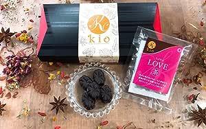 【漢方の氣生】氣香choco(きこうチョコ)4g×12個・LOVE茶2包入り