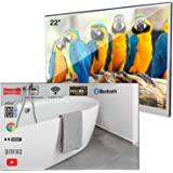Soulaca Velasting 22 inches Updated Bathroom Magic Mirror LED TV Android 7.1 Waterproof Embedded Shower Television Bluetooth