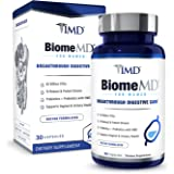 1MD BiomeMD Probiotics for Women - 62 Billion CFUs, 16 Strains with Prebiotics with HMO | Supports Vaginal & Urinary Health -
