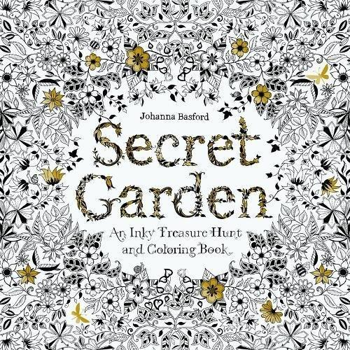 Secret Garden: An Inky Treasure Hunt and Coloring Bookの詳細を見る