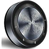 LED指示スピーカーフォン会議用マイクスピーカーBluetooth対応15名対応360˚全方向集音web遠隔会議用マイクワイヤレススピーカー 双方向通話 エコー・ノイズのキャンセリング 高音質 オンライン会議 テレワーク 在宅 会議用システム ウェブ