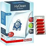 Miele Genuine GN HyClean 3D Efficiency Dust Bags Vacuum Cleaners + Free Fresheners