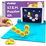 Shifu Plugo Link - Construction Kit with Puzzles, Augmented Reality Stem Toy | Fun Magnetic Building Blocks | Educational Eng