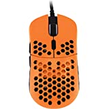 HK Gaming Mira S Ultra Lightweight Honeycomb Shell Wired RGB Gaming Mouse - Up to 12 000 cpi | 6 Buttons - 61g Only (Mira-S,
