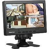 Koolertron 7インチ 液晶モニター1080p HDMI ディスプレイ カメラモニター 防犯 監視用/DSLR…