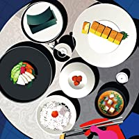 ごはん味噌汁海苔お漬物卵焼き feat. 梅干し