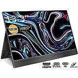 cocopar 13.3インチ/モバイルモニター/モバイルディスプレイ/スイッチ用モニター/IPSパネル/薄い/軽量/1920x1080FHD/USB Tpye-C一本/mini HDMI/保護ケー ス付 (13.3インチ)