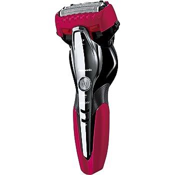 パナソニック ラムダッシュ メンズシェーバー 3枚刃 お風呂剃り可 赤 ES-ST8P-R