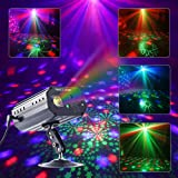 CHINLY DJパーティーレーザーライト ステージライト 舞台照明 赤と緑 レーザーライト パーティー DJ カラオケ カラオケ 誕生日 結婚式