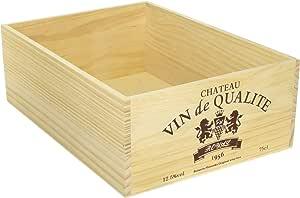 ワインボックス L 【ワイン木箱】ナチュラル -