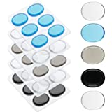 30 Pieces Drum Dampeners Gel Pads Silicone Drum Silencers Dampening Gel Pads Non-toxic Soft Drum Dampeners for Drums Tone Con