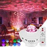 Galaxy Projector Star Projector Galaxy 360 Pro Projector with Bluetooth Speaker Ocean Wave Projector with Remote Control for