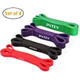 INTEY Pull up Assist Band Exercise Resistance Bands for Workout Body Stretch Powerlifting Band