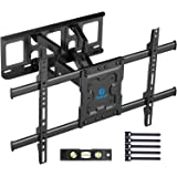 "Full Motion TV Wall Mount Bracket Articulating Arms by Pipishell 37""-70"" Full Motion TV Wall Mount Black"