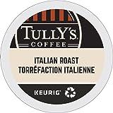 Keurig Tully's(タリーズ)KカップTully's Coffee  K-Cup for Keurig Brewers 並行輸入品 (イタリアンローストItalian Roast, 24カップ(24Count )
