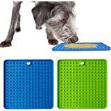 BWOGUE 2 Pack Pad for Dog Lick, Pet Boredom Buster Lick Mat Slow Feeders & Anxiety Relief, Perfect for Dog Food, Cat Food, Ca