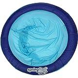 "Swimways 13239-161 Spring Float Papasan Pool Chair, (assortment may vary ) Dark Blue / Light Blue 8"""
