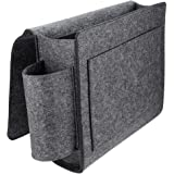 Jjwl Bed Pocket,kids Bedside Caddy Storage Organizer, Eco-friendly Felt Extra Large Bedside Caddy For Bed, Table And Sofa