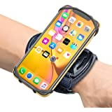 Sports Wristband Comsoon 360 Rotatable Forearm Armband Phone Holder for iPhone Xs Max/XR/8 Plus/8 Galaxy Note9/S9 Plus/S9 & O