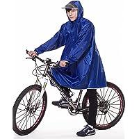 【2020年最新版】QIAN レインコート 自転車 メンズ レディース 雨具 レインポンチョ ポンチョ 通学通勤 軽量 完全防水 防汚 防風 男女兼用