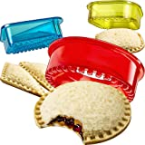 Sandwich Cutter and Sealer - Decruster Sandwich Maker - Cut and Seal - Great for Lunchbox and Bento Box - Boys and Girls Kids