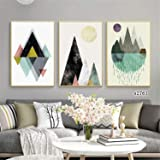 3 Pieces Modern Wall Art Nordic Minimalism Posters Decor Picture Printed Canvas Artist Home Decor Artwork Wall Decoration for