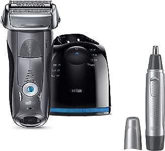 【セット買い】ブラウン メンズ電気シェーバー シリーズ7 7867cc + 鼻毛/耳毛カッター EN10