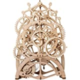 ROBOTIME 3D Self-Assembly Puzzle Adult Craft Set Brain Teaser Puzzles Pendulum Clock