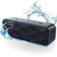 Bluetooth スピーカー ワイヤレススピーカー IPX7防水 高音質重低音 大音量 ブルートゥーススピーカー 36…