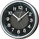 セイコー クロック 目覚まし時計 アナログ ELバックライト 黒 メタリック KR895K SEIKO