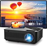 Native 1080p Full HD Projector, WiFi Projector, Bluetooth Projector, FANGOR 6500 Lumnens/250 Display/ Contrast 8000: 1 Full H