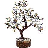 HARMONIZE Multistone Feng Shui Bonsai Tree for Reiki Healing Table Home Decor