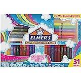 Elmer's Glue-All Multi-Purpose Liquid Glue Glitter Glue Pens Bundle Rainbow (31-Count)