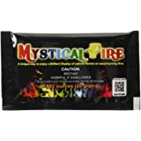 Mystical Fire Flame Colorant Vibrant Long-Lasting Pulsating Flame Color Changer for Indoor or Outdoor Use 0.882 oz Packets 25