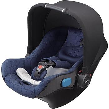 Aprica (アップリカ) 新生児から5Wayで使えるインファントカーシート ミッドナイトサークルズ NV 【3輪ベビーカーSmooove TSに装着できる】 2024039