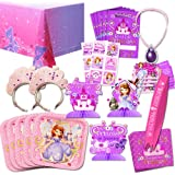 Disney Sofia the First Party Supplies Value Set-- Birthday Party Plates Cups Napkins and More!