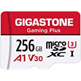 Gigastone 256GB Micro SD Card, Gaming Plus, MicroSDXC Memory Card for Nintendo-Switch, 100MB/s, 4K Video Recording, Action Ca