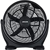 Heller 50cm Black High Velocity Floor Desk Fan/Circulator/ Cooling- HVF50B