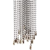 #3 2.3mm ballchain 20 Pcs Stainless Steel Bead Chain 30 inches Ball Chain Necklace