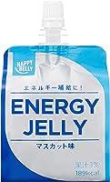 [Amazonブランド]Happy Belly エネルギーゼリー マスカット味 180g×24個